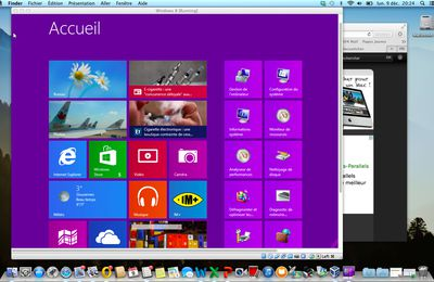 Installer Windows 8 sur un Mac