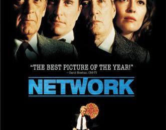 Extrait de NETWORK, film de Sydney Lumet, en 1976