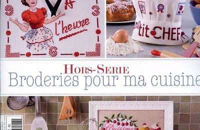 Broderies pour ma cuisine