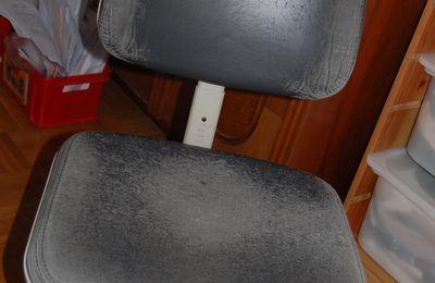 j'ai une chaise neuve !