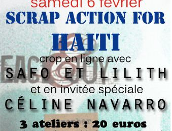 Scrap Action for Haïti !!!