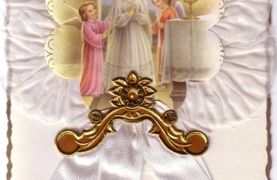 Image souvenir de communion