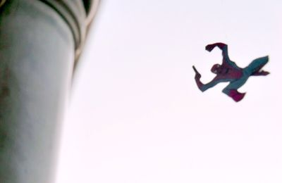 AMAZING SPIDER-MAN... IN THE SKY