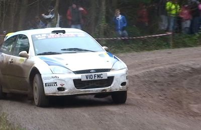 Team GMF Wyedean Forest Rally 2013