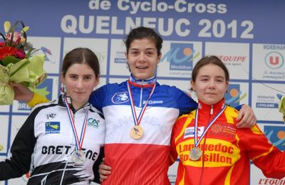 Championnat de France de Cyclo Cross Dames - Les Podiums