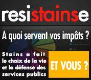 Budget de RésiSTAINSe : Stains fait le choix de la vie de la défense des services publics !