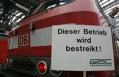 Les conducteurs de train allemands prêts à aller au conflit avec la direction de la Deutsche Bahn pour la semaine de 37 h