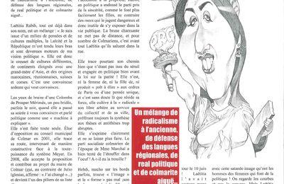 Laëtitia Rabih dans le magazine HEB'DI