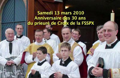 Vidéo des 30 ans du prieuré de la Sainte Croix.