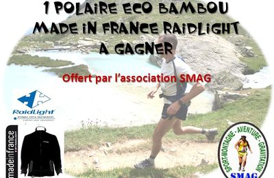 Polaire made-in France Raidlight à gagner !