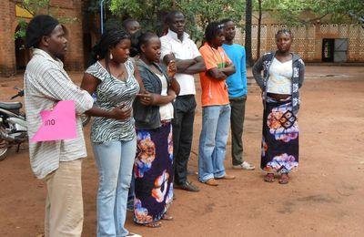 Delphine au Burkina : vacances ou travail ?