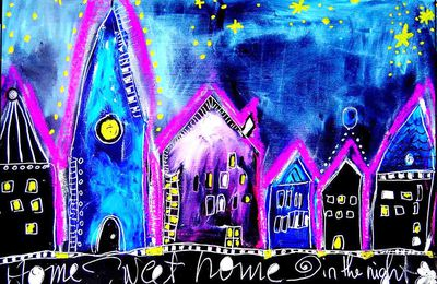 Home Sweet Home in the night