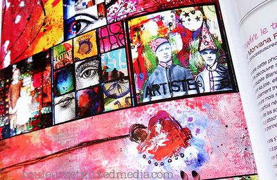 Mes étiquettes mixed-media
