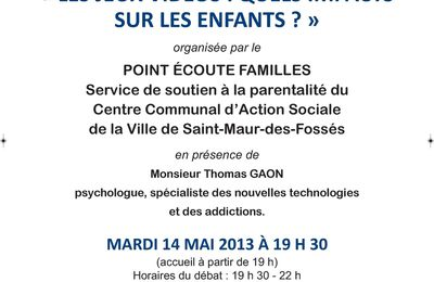 CONFERENCE DU POINT ECOUTE
