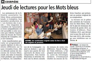 Un petit article de presse
