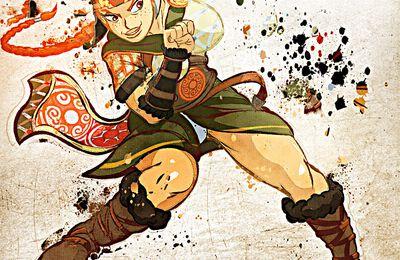 Une pincée de Photoshop 6 : guerrière celte.