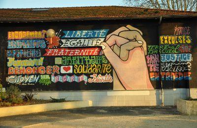 L'arroseur arrosé !: Fresque murale effacée