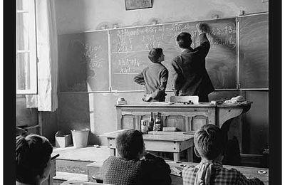 L'école entre hier et aujourd'hui (Boite de Pandore chap.7)
