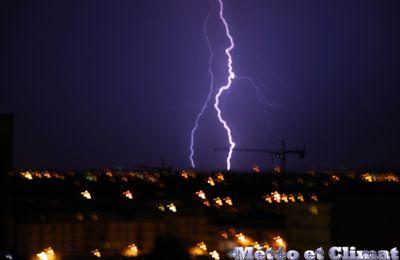 Attention aux orages demain du Sud-Ouest au Nord-Est!