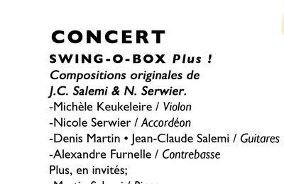 Exposition et concert Salemi à la Jazz Station