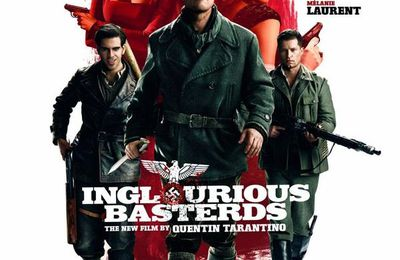 INGLOURIOUS BASTERDS - MOVIE BY QUENTIN TARANTINO - 2009 - PRESENTATION OF INGLOURIOUS BASTERDS AT CANNES FILM FESTIVAL + INTERVIEWS WITH QUENTIN TARANTINO IN ENGLISH