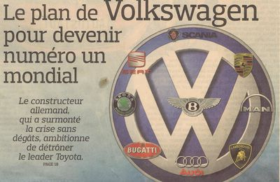 VW des scores insolents mais ...