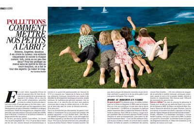 POLLUTIONS : COMMENT METTRE NOS PETITS A L'ABRI ?, Marie Claire, II-10
