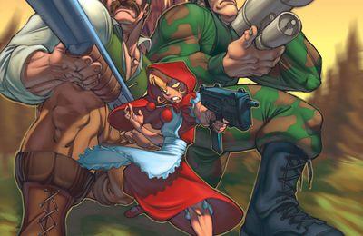 Le combat final d'un chaperon rouge