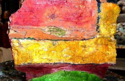 Les Pierres peintes de Christian Vancau