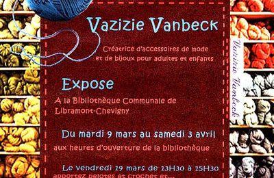 Après le Défilé Vazizie Vanbeck, le Vernissage