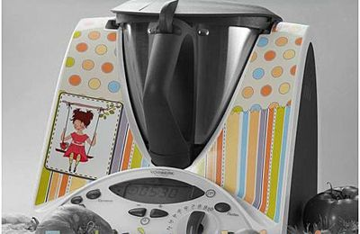 un stickers... pour son thermomix!