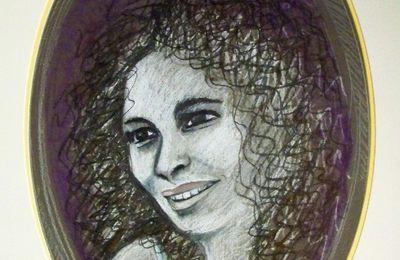 # Portrait au crayon sec