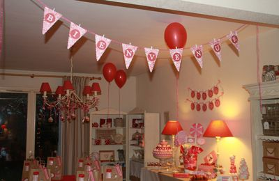 décoration candy bar