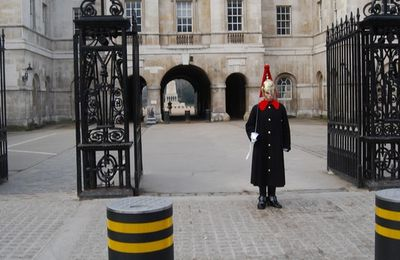 Londres - Le bâtiment des Horse Guards à Whitehall