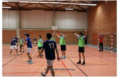 De beaux matchs de Handball à la salle Orion