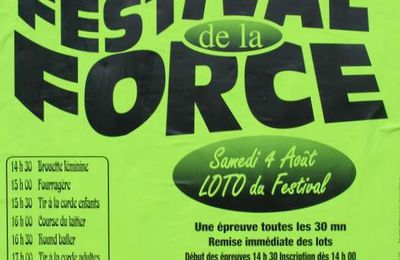 Festival de la Force à Tennie
