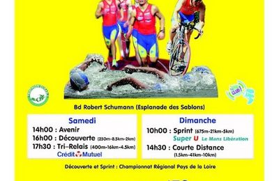 triathlon international le mans