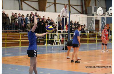 Premier match à l'extérieur de la saison pour le Coc Volley