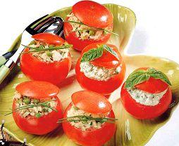 Recettes de cuisine pour enfants ... tomates farcies (froides)
