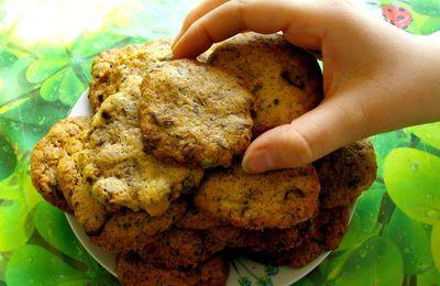 Coockies aux pistaches et chocolat