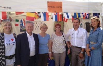 Notre stand au Forum des Associations de Vanves