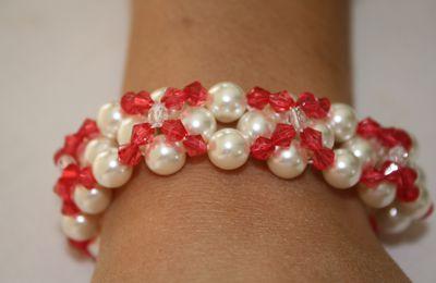 Encore des bracelets en perles