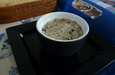 Rillettes de sardines, simple et bien bon !!