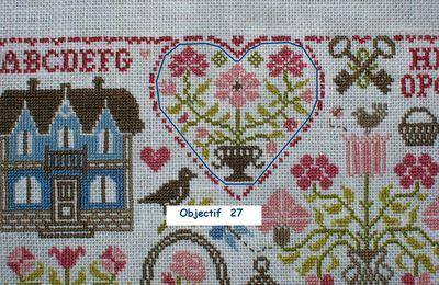 SAL Sampler aux Bouquets - Jardin Privé... 27