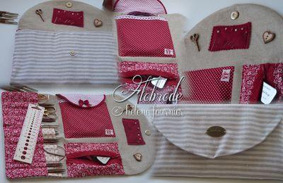 Trousse à accessoires de tricot....