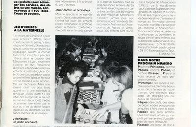 """Les échecs à l'école : la grosse cavalerie Battesti...ou """"le petit joueur de flûteau"""" ?"""