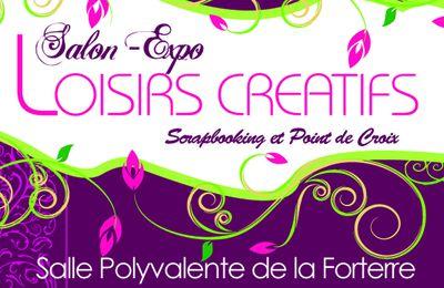 1er salon de loisirs créatifs à Rongères (Allier)