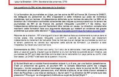 Quand un syndicat de journalistes colore l'information, Y. Kutner