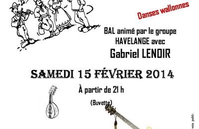 Stage danses Wallonnes et Bal Folk