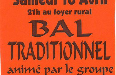 Bal Trad à BARS le 18 avril ....
